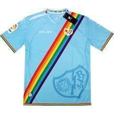 cf768d4e4 2016-17 Rayo Vallecano Rainbow Third Shirt  BNIB  XS - Classic Retro  Vintage Football Shirts