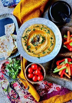 How to Upgrade Your Hummus Game - Spiced Dal Hummus