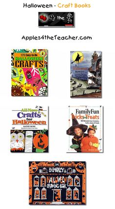 Suggested fun Halloween craft books for children - Halloween craft books for kids.
