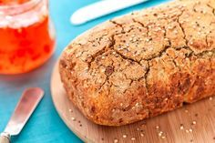 pão de chia e quinoa sem glúten