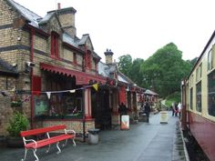 Haverthwaite Railway Station as it is today