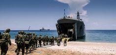 """""""Εσω έτοιμοι για όλα"""": Η 32η Ταξιαρχία Πεζοναυτών στέλνει μήνυμα προς την Τουρκία Cats, Beach, Outdoor, Outdoors, Gatos, Kitty Cats, Seaside, Outdoor Games, Cat"""