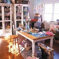 Craft Sewing Room Ideas On Pinterest Craft Rooms Sewing Rooms And