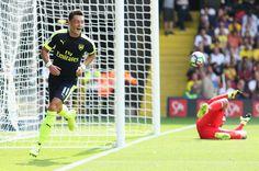Mesut Özil after scoring.