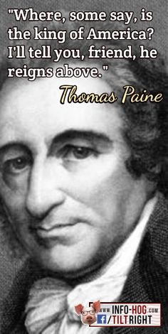 Why do conservatives rarely quote Thomas Paine?