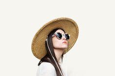 Womens Retro P3 Round Circle Fashion Cat Eye Sunglasses 8986