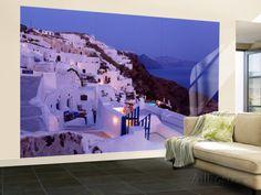 Santorini, Greece Wall Mural – Large at AllPosters.com