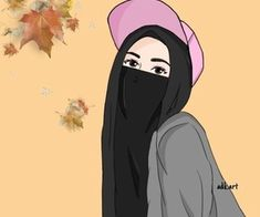Art, girls, and hijab image Best Friends Cartoon, Friend Cartoon, Smash Book, Hijab Drawing, Queen Aesthetic, Islamic Cartoon, Anime Muslim, Hijab Cartoon, Islamic Girl