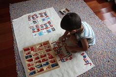 Inexpensive and DIY Movable Alphabets at Living Montessori Now (Photo from Counting Coconuts)