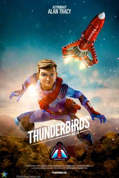Thunderbirds Are Go, Season 2 – Alan Tracy (voiced by Rasmus Hardiker) ©2016 ITV