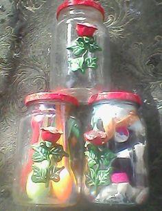 mais vidros decorados