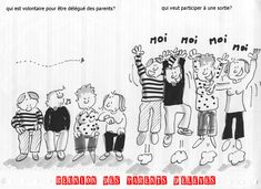 Lien école maison - Prépalipopette Education Humor, Homeschool, Link, Jokes, Funny, Couture, Illustration, Teacher Humor, School Humor
