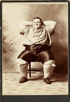 "Cabinet card ""Charles Peters, Famous Wis. Fat Boy, Age 15, Weight 400, 6 Feet High,"" (c 1885)"