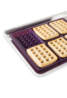 There is no waffling around with this recipe—freeze after baking and then pop in the toaster on busy weekdays. Epicure Recipes, Waffle Recipes, Cooking Recipes, Good Food, Yummy Food, Tasty, Epicure Steamer, Waffle Pan, Whole Wheat Waffles