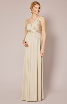 New Style Designer Maternity Dresses - in black and gold would be great