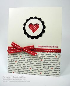 stampin up, dostamping, dawn olchefske, demonstrator, valentine, teeny tiny wishes, lorri heiling