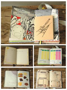 The experimental design diary by Aoyce C., via Behance
