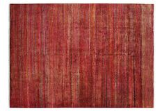 One Kings Lane - A Touch of Modern - 9'x12' Cristin Rug, Red/Multi