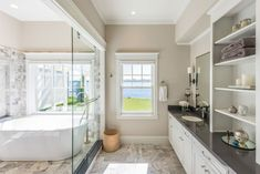 Bathroom With White Vanity : Absolutely gorgeous transitional bathroom bling bathroom ideas features homesense bathroom ideas paired bathroom paint color ideas with wall art bathroom ideas. Bathroom Cabinets Over Toilet, Small Bathroom Shelves, Dark Wood Kitchen Cabinets, Bathroom Shelf Decor, Dark Wood Kitchens, White Vanity Bathroom, Bathroom Ideas, Bathroom Updates, Washroom