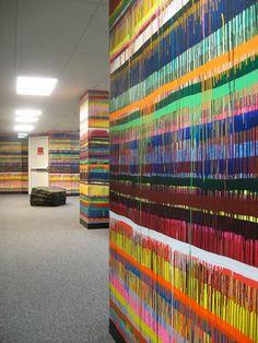Markus Linnenbrink's Painting Installations