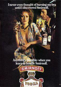vintage everyday: 20 Bizarre Vintage Alcohol Adverts