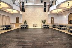 See Renaissance Event Hall, a beautiful Queens wedding venue. Find prices, detailed info, and photos for New York wedding reception locations. Catering Halls, Outside Catering, New York Wedding Venues, Outdoor Wedding Venues, Long Island City Ny, Queens Wedding, Ceremony Seating, Curved Staircase, Garden Spaces