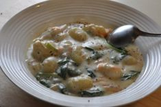 Olive Garden Chicken and Gnocci Soup Replica Recipe Ahhhhh BEST SOUP EVER!!!!!!!!