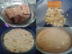 .: Tarta de chocolate y flan