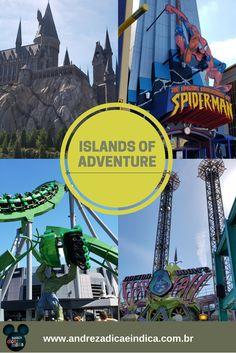 Conheça o Islands of Adventure, segundo parque da Universal  e um dos mais incríveis de Orlando