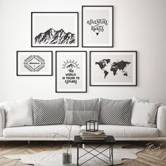 Items similar to ADVENTURE quote print adventure prints adventure poster adventure wall art tribal arrows print arrow art rustic decor tribal adventure decor on Etsy Boys Room Decor, Room Wall Decor, Living Room Decor, Bedroom Decor, Posters Decor, Inspiration Wand, Cheap Living Room Sets, Gallery Wall Layout, Cheap Home Decor