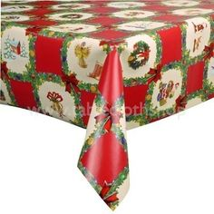 114 Best Yule Table Linens Images Table Top Covers Table Linens