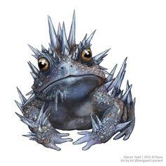 Image result for Glacier Toad