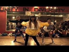 All ages, all sizes, all ethnicities killing it on the dance floor. I LOVE IT!   Nicki Minaj - Anaconda - Choreography by Tricia Miranda ft @kaelynnharris | @nickiminaj @timmilgram - YouTube