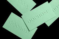QQCHOSE by Paprika, Canada. #branding #businesscards