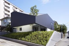 #facade #tree centre of view TY / Yo Yamagata Architects + AND Associates