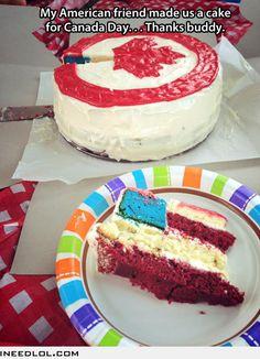 Thanks for the cake…bahahaha