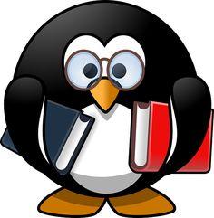 Tux, Zwierząt, Ptak, Książka, Książek, Mól Książkowy