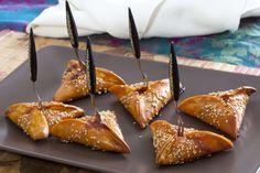 Espía en la cocina: Triángulos de sobrasada y miel