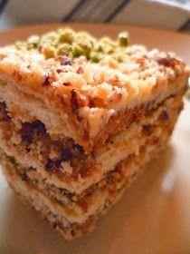 La Cuisine de Nadia: Gâteau Courant d'Air - Khobzet El Ehwe - Recette Filmée