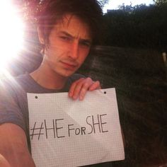 #HeForShe equality is cool. #Feminism is what's #hott