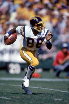 Wide receiver Wes Chandler of the San Diego Chargers  1981