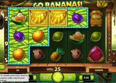 Zoznámte sa s výhernými opicami! http://www.vyherne-hracie-automaty.com/naj-kasino-hry/automaty-go-banannas #HracieAutomaty #VyherneAutomaty #Jackpot #Vyhra #Gobanannas