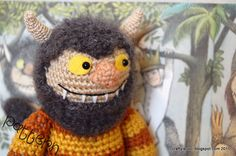 PATTERNS Where the Wild Things Are Set of von craftyiscoolcrochet