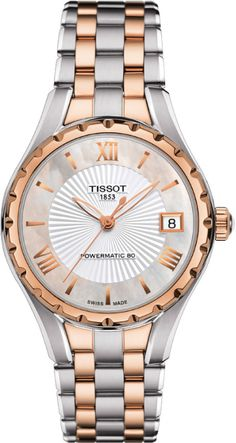 Tissot T-Trend Lady T072 bicolor rose gold