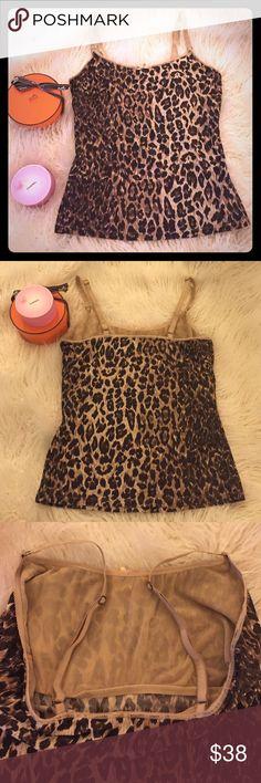 Authentic Dolce Gabbana Leopard Print Cami - Sz m Beautiful! Dolce & Gabbana Intimates & Sleepwear Chemises & Slips