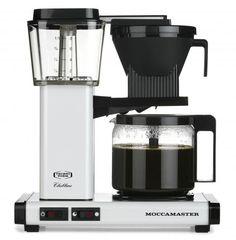 Technivorm Moccamaster Coffee Brewer (KBG741) - White Metallic