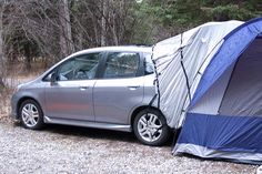 @Staci Hulsey The Honda Fit tent!
