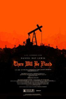 """There Will Be Blood, directed by Paul Thomas Anderson . """"I have a competition in me. I want no one else to succeed. I hate most people."""" - Awesome movie poster for this unforgettable film, which I would recommend to anyone. Omg Posters, Best Movie Posters, Cinema Posters, Movie Poster Art, Print Poster, Love Movie, Movie Tv, Olly Moss, Bon Film"""