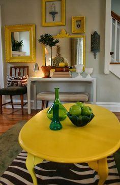 HOME & GARDEN: 20 idées pour mettre du jaune dans sa déco !