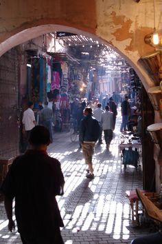 The Souks, Marrakech, Morocco